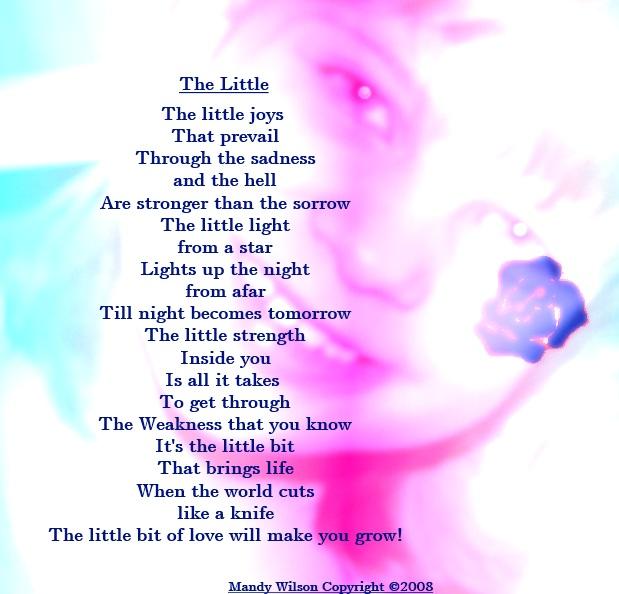inspirational poems - http://mandylh.webs.com/